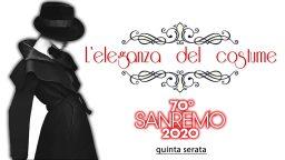 Sanremo 2020 look 8 febbraio