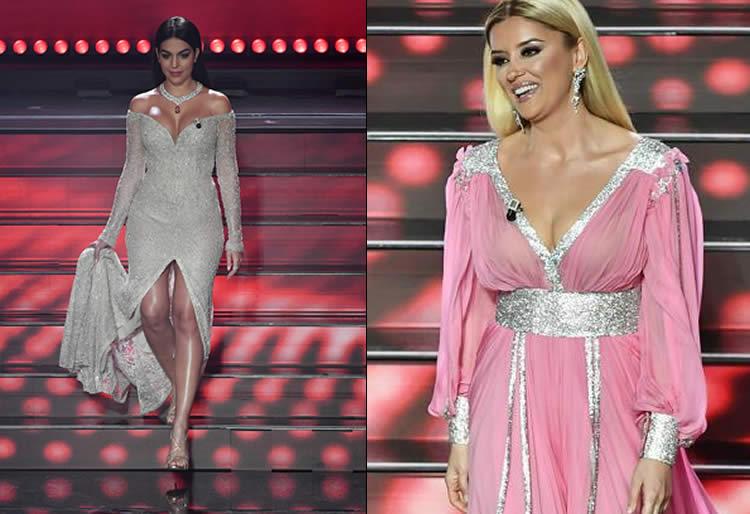Sanremo 2020 recensione terza serata Georgina Rodriguez Alketa Vejsiu