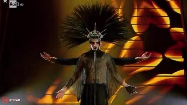 Sanremo 2020 diretta 7 febbraio achille lauro