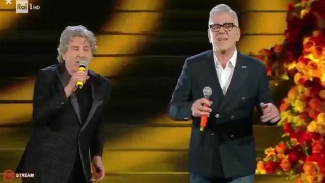 Sanremo 2020 look 6 febbraio Zarrillo e Leali