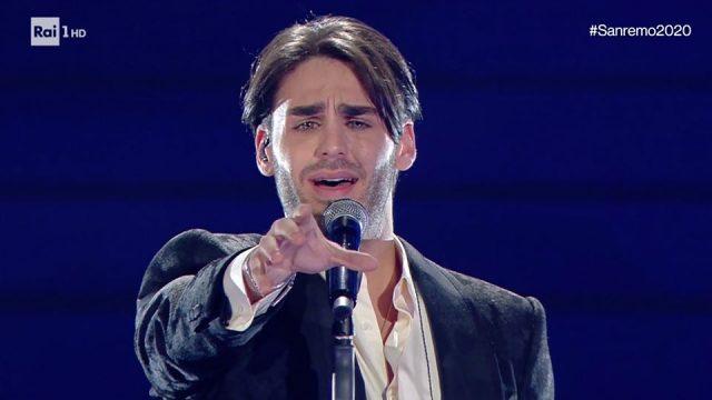 Sanremo 2020 canzoni prima serata Alberto Urso