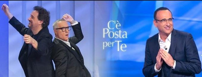C'è posta per te diretta 7 marzo - Ospiti Panariello, Pieraccioni e Conti
