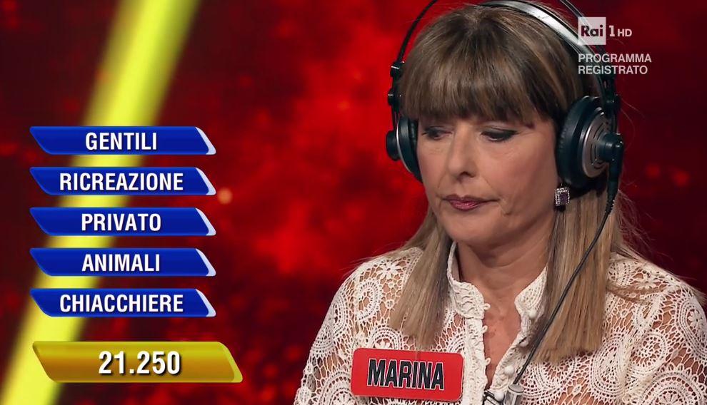 L'Eredità Marina campionessa quanto ha vinto