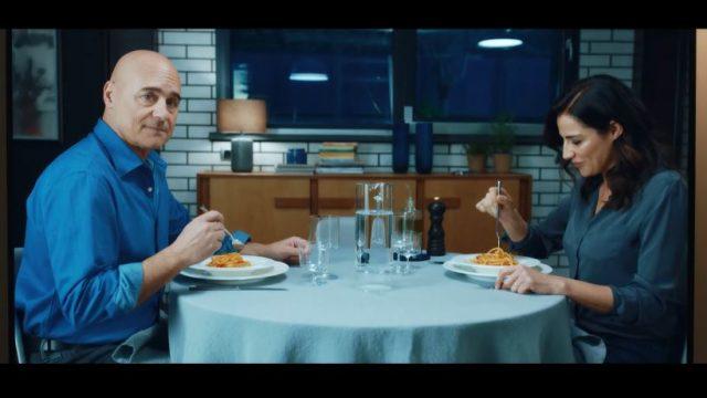 I video delle pubblicità con Luca Zingaretti e Luisa Ranieri