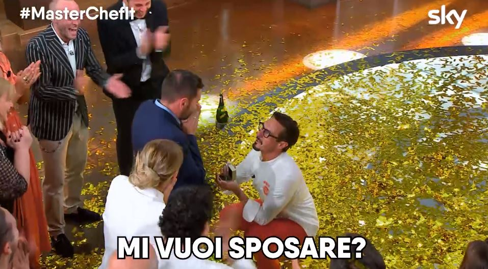 MasterChef proposta di matrimonio Antonio