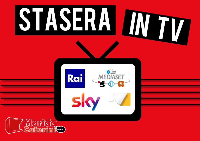 Stasera in tv mercoledì 1 aprile - I programmi in onda