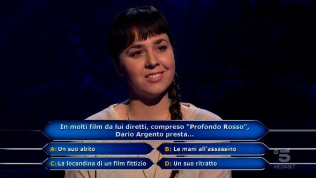 Chi vuol essere milionario diretta 4 marzo - Laura Leonardi risponde all'undicesima domanda