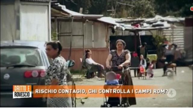 dritto e rovescio campo rom