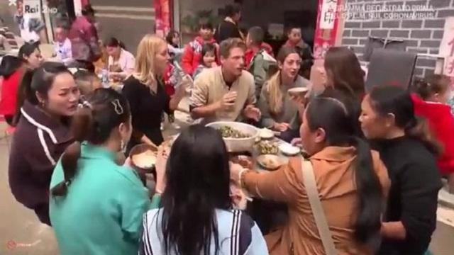 pechino express banchetto