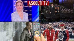 Ascolti TV domenica 5 aprile 2020