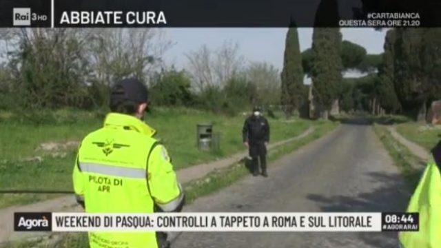 Agorà - Polizia Locale con un pilota di droni