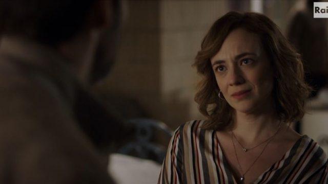Agnese Tiberi interpretata da Sara Lazzaro