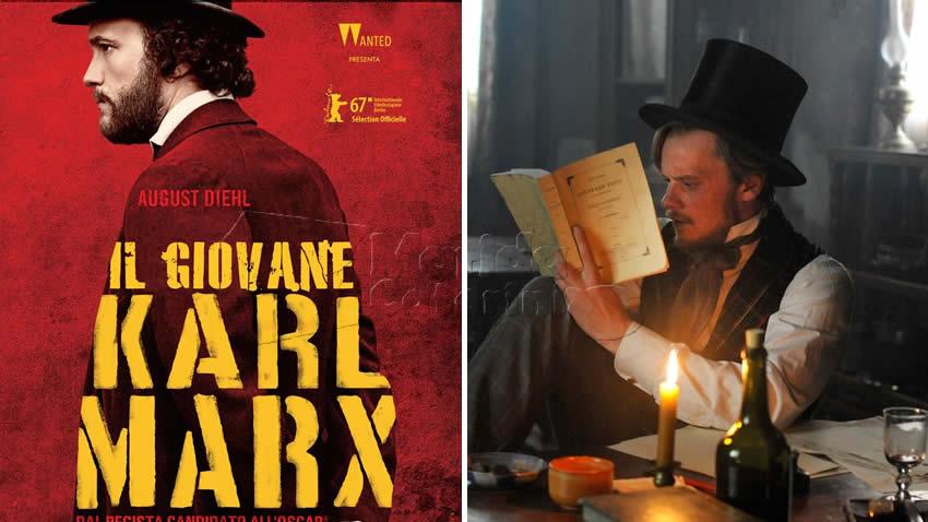 Il giovane Karl Marx film Rai 3