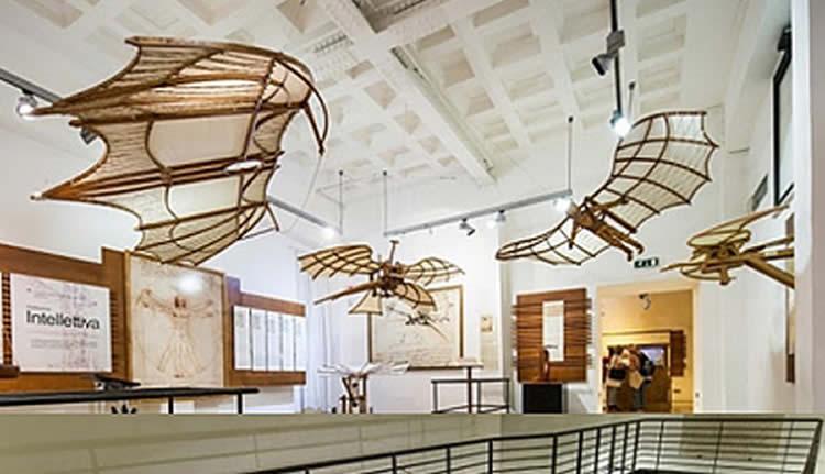 Iorestoacasa con Leonardo Da Vinci mostra