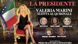 La Presidente Valeria Marini eletta al Quirinale Rete 4