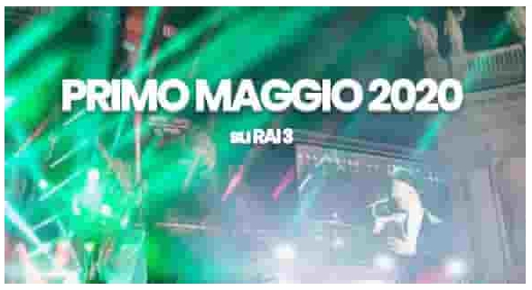 Primo Maggio 2020 Concertone