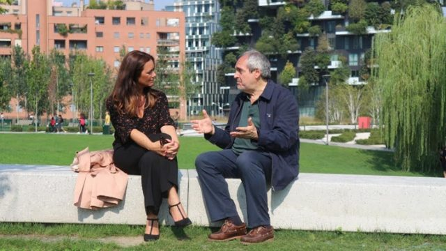 Romanzo italiano Annalena Benini con Doninelli