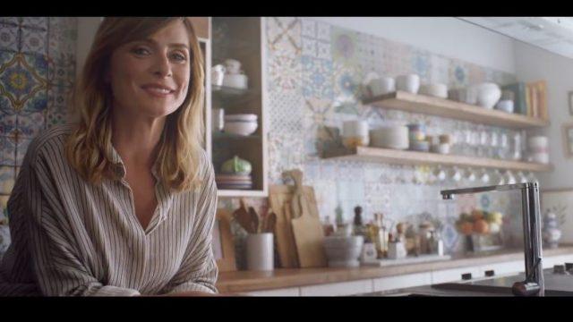 Spot in TV Caffè Kimbo - Serena Autieri testimonial della passione napoletana