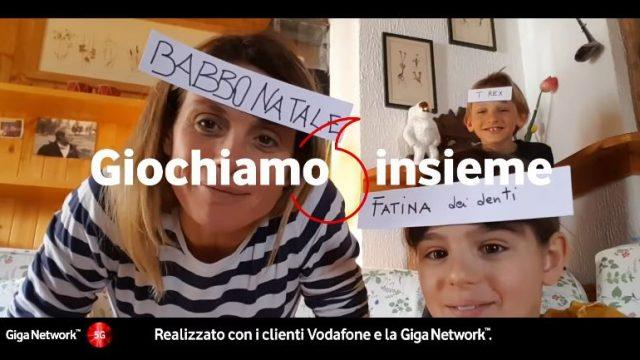 Spot in TV Vodafone coronavirus - La pubblicità entra nelle case degli italiani