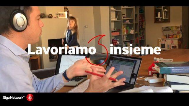 Vodafone sentirsi insieme grazie a internet