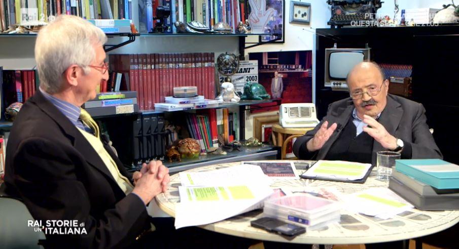Rai storie di un'italiana 16 maggio - Con Maurizio Costanzo la nascita della tv