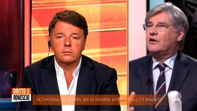 Dritto e rovescio 7 maggio - Renzi polemico sulla riapertura dei negozi