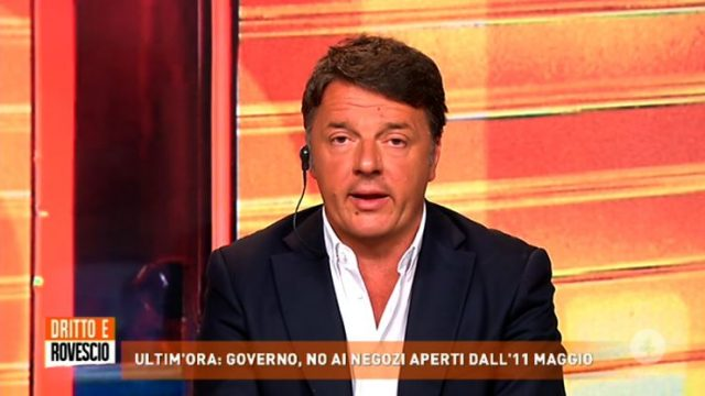 Dritto e rovescio 7 maggio - Renzi sulla Fase 2 e le misure economiche