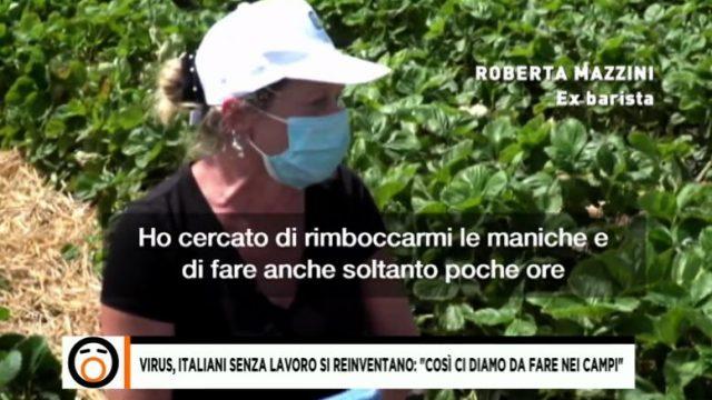 I lavoratori italiani nei campi