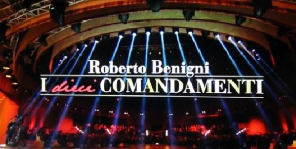 I Dieci Comandamenti Roberto Benigni