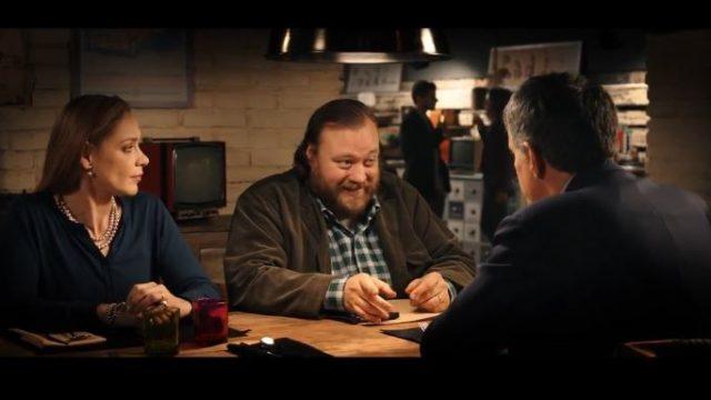 La prima volta di mia figlia film Rai 2 - Alberto a tavola con Marina e Giovanni