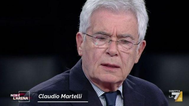 Non è l'Arena video Adriano Celentano - Claudio Martelli