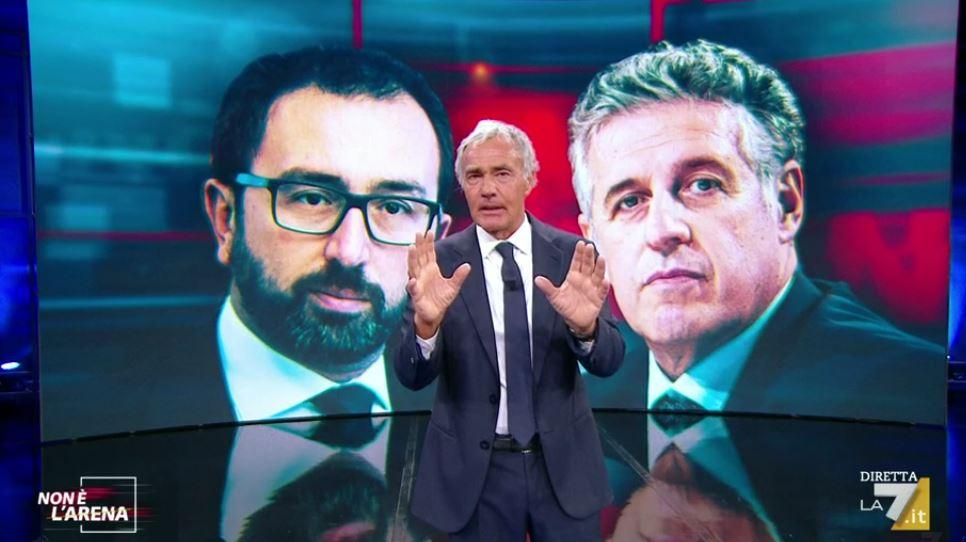 Non è l'Arena video Adriano Celentano sul caso Di Matteo - Bonafede