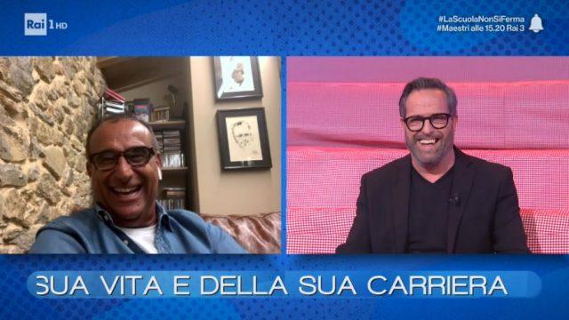 Vieni da me diretta 4 maggio - La cassettiera con Carlo Conti