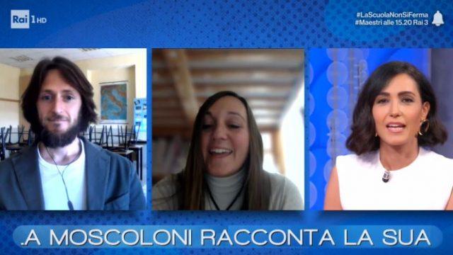 Vieni da me diretta 4 maggio - La maestra Michela Moscoloni in diretta da Nemi
