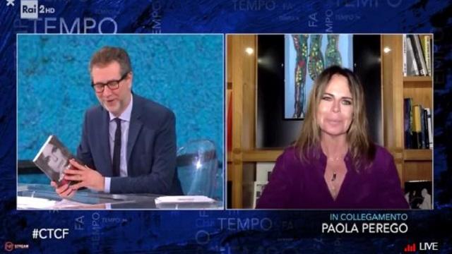 Che Tempo che fa Paola Perego