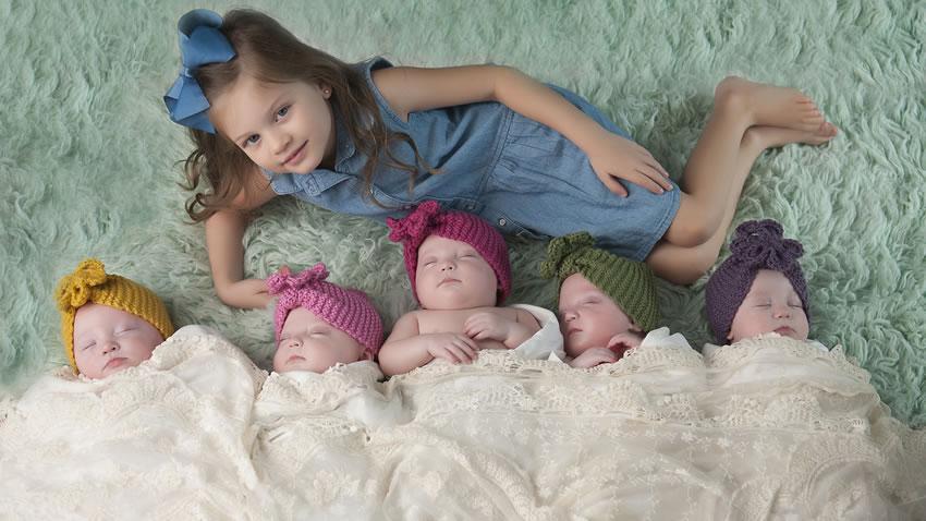 5 gemelle sotto un tetto episodi