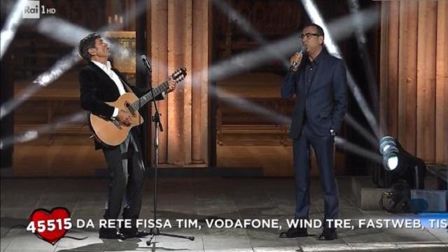 Con il cuore nel nome di Francesco diretta 9 giugno duetto