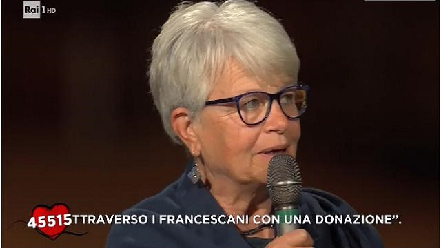 Con il cuore nel nome di Francesco diretta 9 giugno luisa