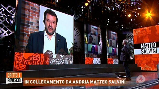 Dritto e rovescio 25 giugno - L'intervista a Matteo Salvini