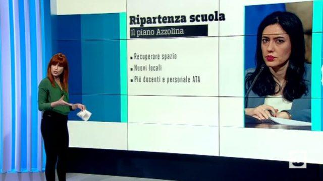 Tg8 diretta 29 giugno su Tv8 - La giornalsita Francesca Barachini