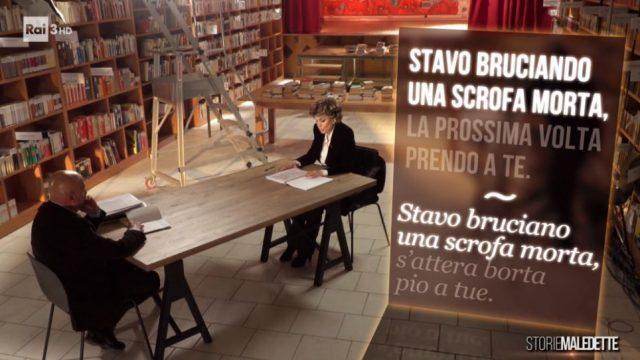 Storie maledette 7 giugno diretta - Gli sms di Francesco Rocca