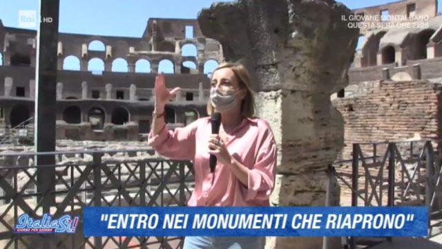 La riapertura del Colosseo