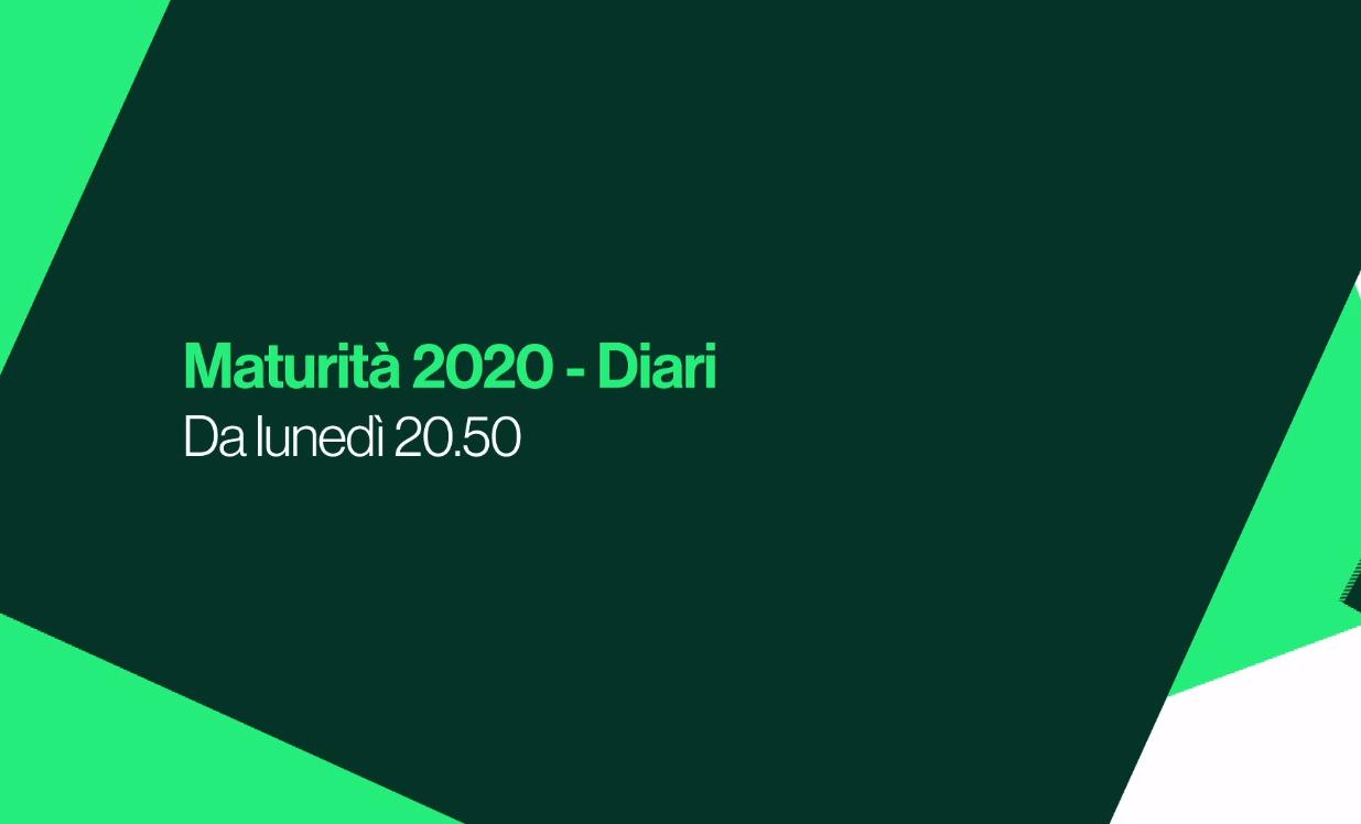 Maturità 2020 Diari Logo