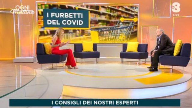 Ogni mattina diretta 29 giugno su Tv8 - Rosario Trefiletti