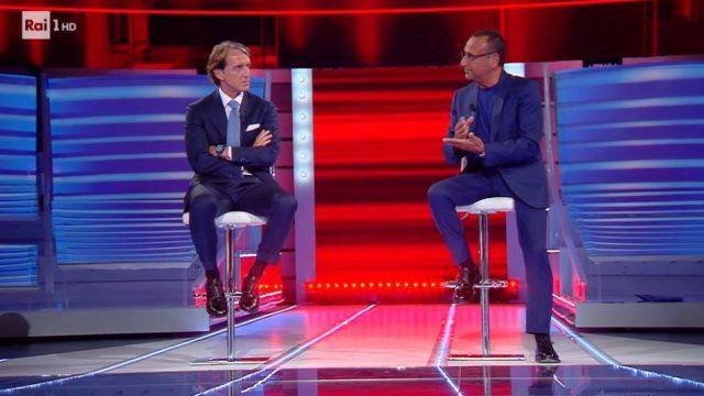 Top Dieci diretta 14 giugno - Ospite il l'Allenatore della Nazionale Roberto Mancini