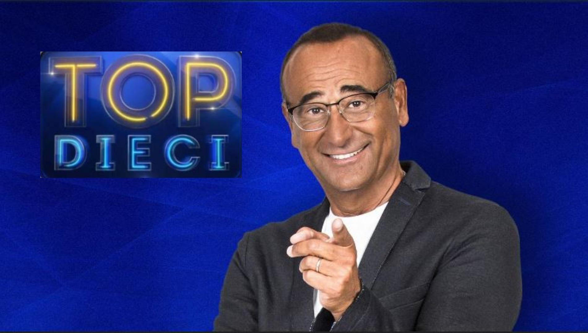 Top Dieci diretta 19 giugno - Carlo Conti torna su Rai 1