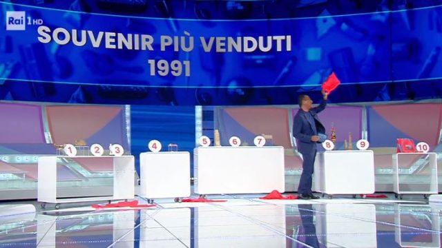 I souvenir italiani più venduti nel 1991