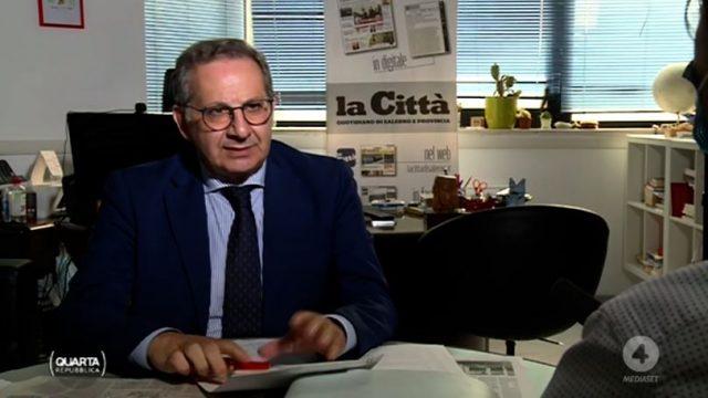 Quarta Repubblica 6 luglio - Il giornalista Antonio Manzo