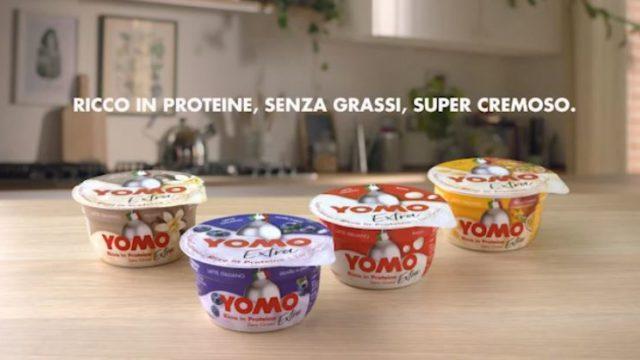 I video della pubblicità Yomo