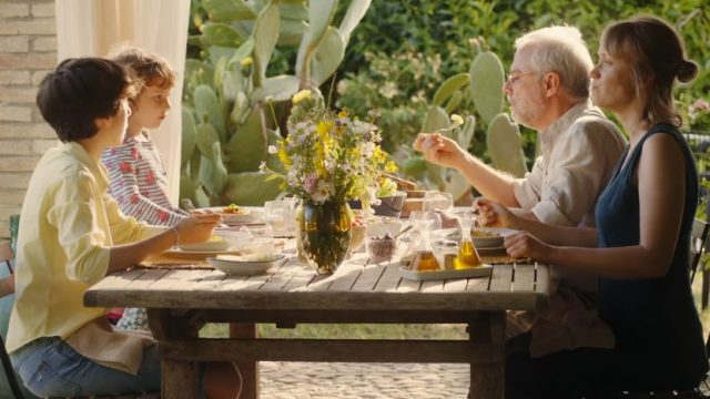 Spot in Tv Barilla grano italiano - La famiglia Luchetti